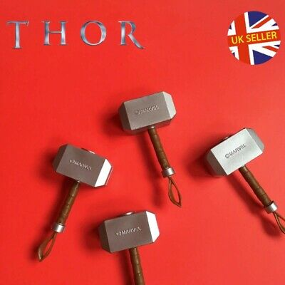 Thor Mjolnir Figure Hammer Asgard Kids Avengers Marvel End Game Toys UK Seller