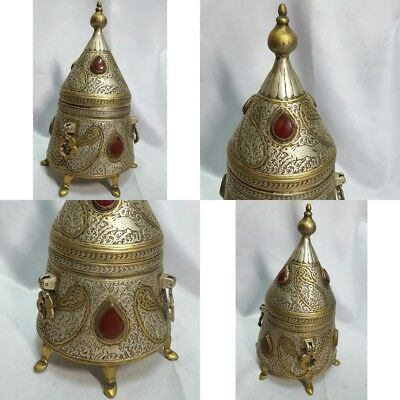 An ancient Persian incense burner. Or ink. Very rare. 19th century