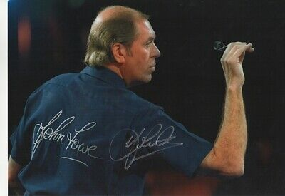 John Lowe Signed A3 Photograph (JL2) - Hand Signed with COA