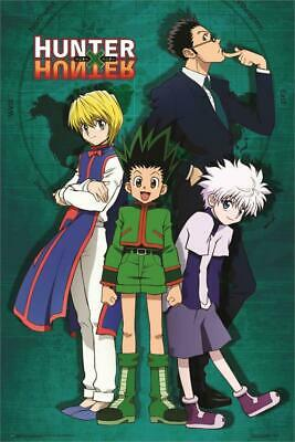 Hunter X Hunter Group Map Poster 24in x 36in