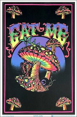 Eat Me Blacklight Poster 23 x 35
