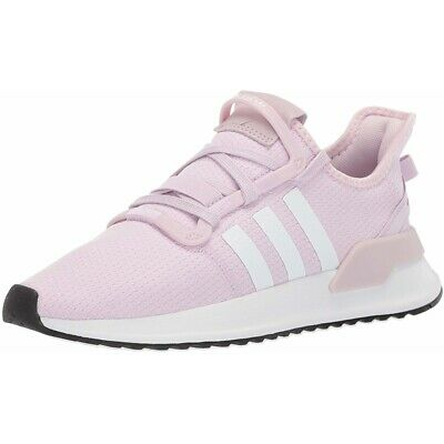 34f1bb56a adidas Originals U Path Run J Aero Pink Textile Youth Trainers Shoes