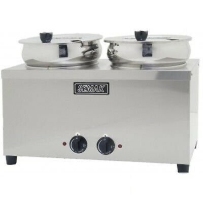 SEMAK SW7D Soup Warmer Double