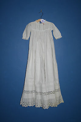 Antique Victorian Edwardian Baby Gown (#43)