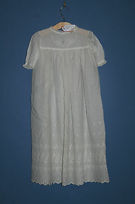 Antique Edwardian Baby Gown c1910 (#41)