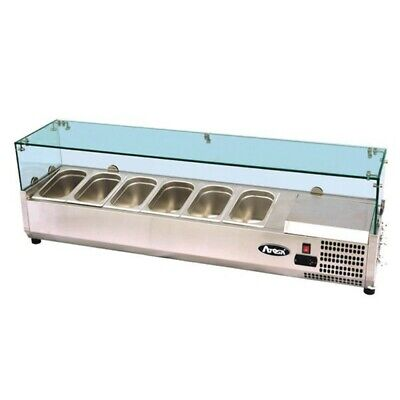 ATOSA VRX1400/380 Glass Counter Top 1400mm