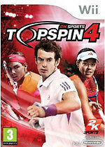 Top Spin 4 (Wii) - Game  Topspin 4 Complete With Manual PAL