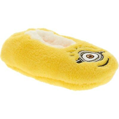 DESPICABLE ME  minion BOYS/GIRL SLIPPER SOCKS Toddler  SIZE 2T-3T