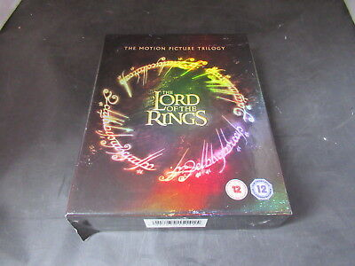 Blu Ray Boxset The Lord of the Rings Motion Picture Trilogy 6 Disc Set