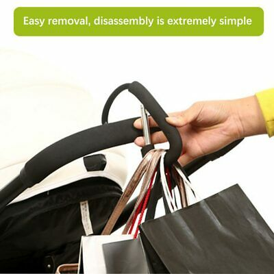 1PC Pram Hook Baby Stroller Shopping Bag Clip Carrier Carabiner Pushchair Hanger