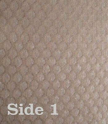 Antique Radio GRILLE CLOTH Fabric Vintage SPEAKER Repair - # 7 - Reversible