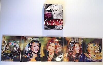Sex and the City: Complete HBO Season 6 (2004) Region 2 PAL 5-Disc DVD Boxset