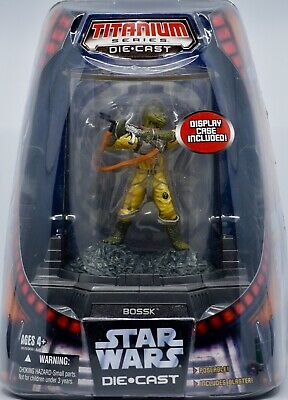 2006 Hasbro Micro Machines Star Wars Titanium Series Bossk Die Cast Figure New