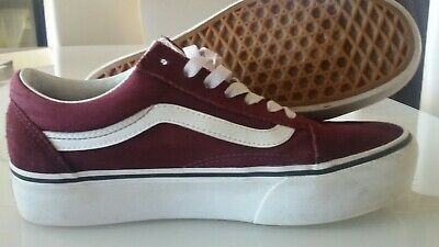 old skool vans platform 38