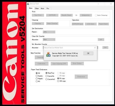 RESET CANON ST v 5204🔑With unlimited KEYGEN✅service tool