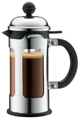 Bodum Chambord 3 Cup French Press Coffee Maker 12 Oz. Chrome