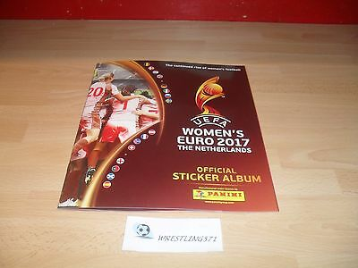 ALBUM NEUF EMPTY VIDE  PANINI UEFA WOMEN'S EURO 2017 THE NETHERLANDS à SAISIR
