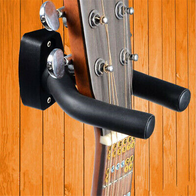 Guitar Wall Hanger Mount Holder Hook for Acoustic Guitar Bass Ukulele NEW