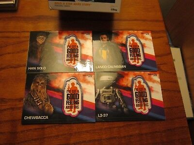 "Star Wars ""Solo"" 2018 (""Target"" Patch Card's 4 Of 5)!!!"