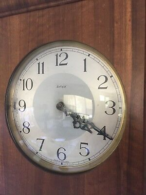 Antique Enfield English Grandfather Clock, Art Deco, 1930s? Westminster Chime