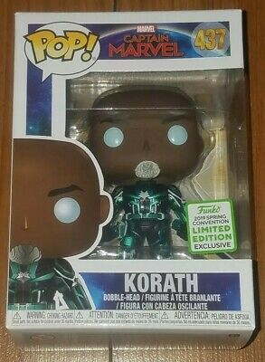 Funko Pop Marvel #437 Korath Captain Marvel ECCC Shared Exclusive