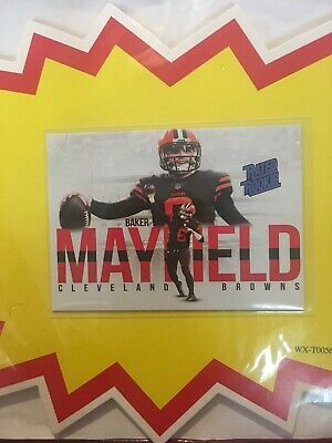 2018 Aceo Rated Rookie Baker Mayfield Cleveland Browns Rookies Rc Card#6