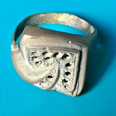 Rare Viking Ancient Bronze Ring Solid VERY Stunning Magnificient