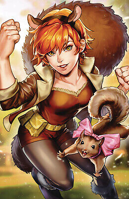 Unbeatable Squirrel Girl #44 Sujin Jo Marvel Battle Lines Va (08/05/2019)