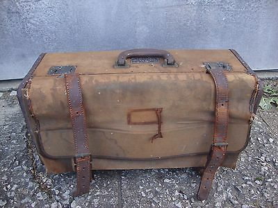 Vintage Airforce Army  Navigation suitcase