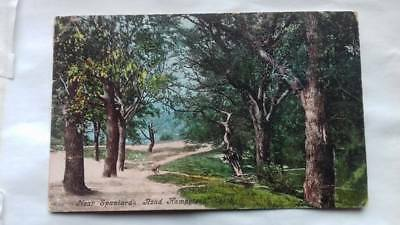 Antique postcard,Spaniard's Road,Hampstead,1905,Kentish town,Walthamstow,London