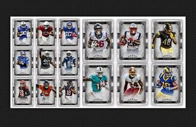 15 Card Set-Five Star 19 Silver Base-Topps Huddle 19 Digital