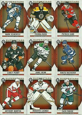 2018-19 OPC Canadian Tire Coast to Coast SUPERSTARS #101-150 SP* U PICK *
