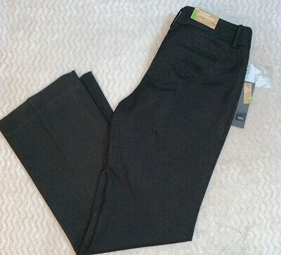 Mossimo Women's Gray Stretch Mid Waist Straight Hip Career Pants Fit 3 ▪ Size 10