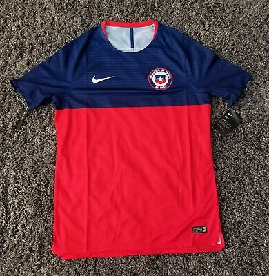 0c22f3bb561 Nike Chile International 2018 WORLD CUP Futbol Soccer Jersey Mens Size Large
