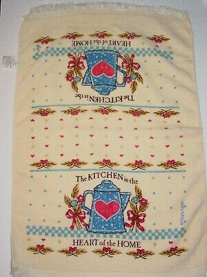 Cecil Saydah Beach Towels.Vintage Lobster Kitchen Dish Towel Printed Retro Cotton Terry Cloth