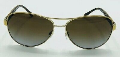 74eb7bfb0d2 Burberry sunglasses POLARIZED B3080 1145 T5 Aviator Style 59mm Gold Brown  Lenses