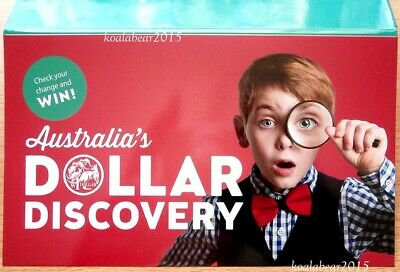Australia 2019 $1 One Dollar Discovery Collectors Coin Folder with magnifier