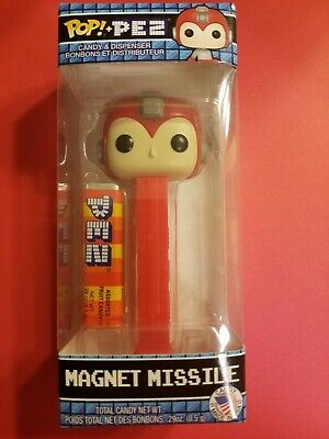 FUNKO POP! MEGAMAN Collection MAGNET MISSILE PEZ Dispenser New in the Box!