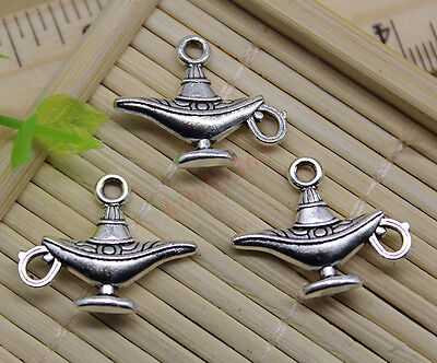 Free Shipping 16pcs Jewelry Making DIY Aladdin Magic Lamp Charm Pendant 18x22mm