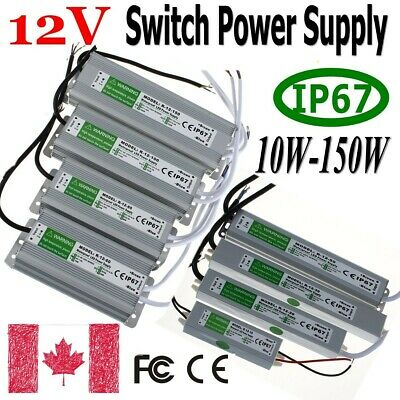 Waterproof Switching Power Supply AC 110V to DC 12V Driver  for LED Strip lights