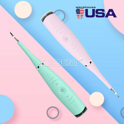 Portable Electric Sonic Dental Calculus Remover Scaler Tooth Stains Clean Tools