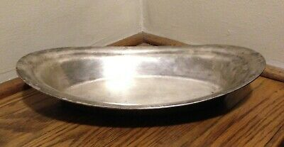 Vintage Reed & Barton Silver Plate Soldered Oval Serving Dish 2800