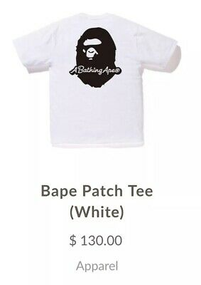 9b5addc3 A BATHING APE (BAPE) Tee Shirt. 100% Real. Size small. Deadstock ...