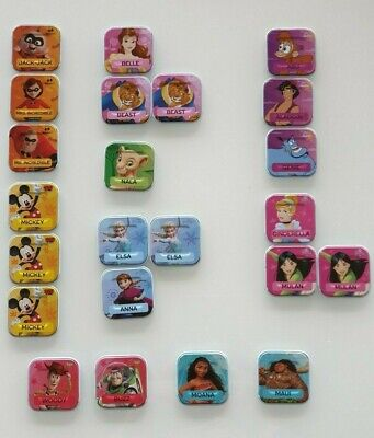 Woolworths DISNEY Words Scrabble TILES Collectables *LIMITED STOCK LEFT*