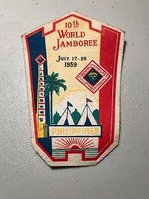 Boy Scouts 1959 10th World Philippines Jamboree Patch    P