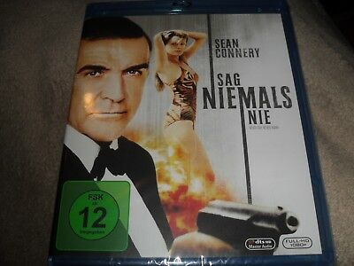 Never Say Never Again (1983) James Bond Region Free BRAND NEW Blu-ray