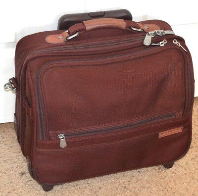 Briggs & Riley Rolling Travel Bag Luggage Suitcas Travelware Carry On Very Nice