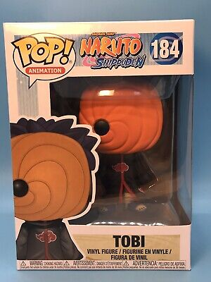 Funko Pop! Naruto Shippuden TOBI Vinyl Figure #184 SAFE SHIPPER SEE REVIEWS