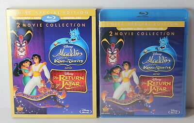 Disney Aladdin 2 3 King of Thieves / Return of Jafar Blu Ray DVD Digital