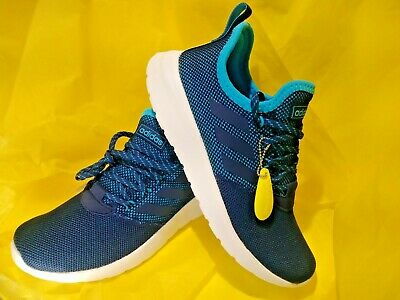 NEW  MEN'S adidas Lite Racer RBN RUNNING/YOGA/FITNESS SHOES SIZE 9.5  BLUE